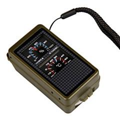 Fire Starter / Überlebens-Pfeife / Zirkel / Thermometer / Lupe Camping / Outdoor Multi-Funktions- / Nautisch / Erste Hilfe / Praktisch