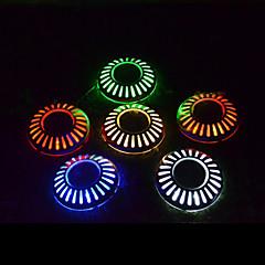 Χαμηλού Κόστους Φωτιστικά εξωτερικού χώρου-6 LEDs Ψυχρό Λευκό Επαναφορτιζόμενο Διακοσμητικό Μπαταρία