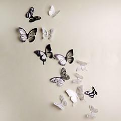 애니멀 3D 벽 스티커 3D 월 스티커 데코레이티브 월 스티커,비닐 자료 이동가능 홈 장식 벽 데칼