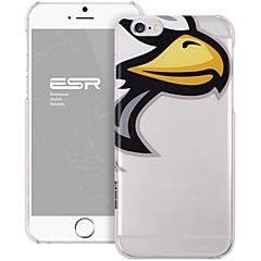 Для Кейс для iPhone 6 / Кейс для iPhone 6 Plus С узором Кейс для Задняя крышка Кейс для Мультяшная тематика Твердый PCiPhone 6s Plus/6