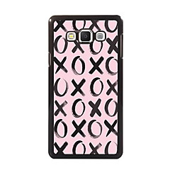billige Galaxy A7 Etuier-For Samsung Galaxy etui Etuier Mønster Bagcover Etui Mosaik mønster PC for Samsung A8 A7 A5 A3