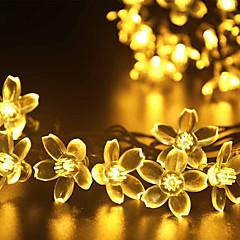 お買い得  LED アイデアライト-GMY® 1枚 クリスマスライト ソーラー 充電式 調光可能