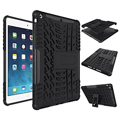 abordables Carcasas y Fundas para iPad Air-Funda Para Apple iPad Mini 4 Mini iPad 3/2/1 iPad 4/3/2 iPad Air 2 iPad Air Antigolpes con Soporte Funda Trasera Color sólido Dura