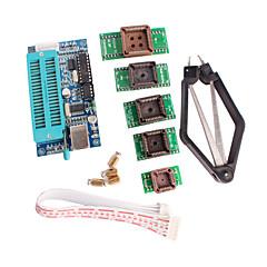 お買い得  マザーボード-マイクロコントローラを開発するためのPLCC IC検査用シートアダプターキットとPIC K150プログラマのUSB自動プログラミング