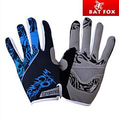tanie Rękawiczki na rower-BAT FOX Rękawiczki sportowe Rękawiczki rowerowe Quick Dry Ultraviolet Resistant Przepuszczalność wilgoci Zdatny do noszenia Oddychający