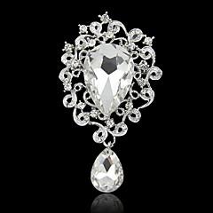 billige Brocher-hjerte form broche med diamant