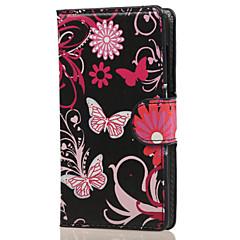 제품 노키아 케이스 케이스 커버 지갑 카드 홀더 스탠드 풀 바디 케이스 버터플라이 하드 인조 가죽 용 NokiaNokia Lumia 850 Nokia Lumia 640 Nokia Lumia 640 XL Nokia Lumia 540 노키아 루미아