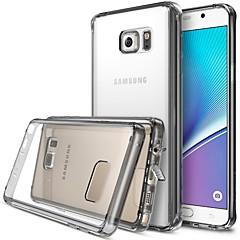 Для Samsung Galaxy Note С узором Кейс для Задняя крышка Кейс для Слова / выражения Акрил Samsung Note 5
