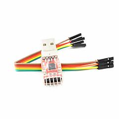 halpa Tarvikkeet-cp2102 usb TTL USB UART moduuli sarja-muunnin - punainen + hopea + musta