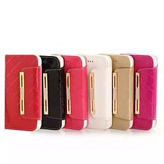 Недорогие Кейсы для iPhone 7 Plus-чехол для iphone 8 iphone 8 плюс держатель для карточного кошелька горный хрусталь с подставкой с флип-чехлом для тела с твердым цветом твердая
