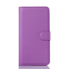Для Samsung Galaxy Note Кошелек / Бумажник для карт / со стендом / Флип Кейс для Чехол Кейс для Один цвет Искусственная кожа SamsungNote