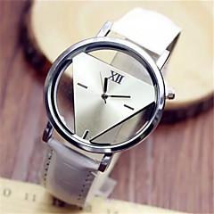 Kadın's Moda Saat Quartz PU Bant Siyah Beyaz Mavi Kırmızı