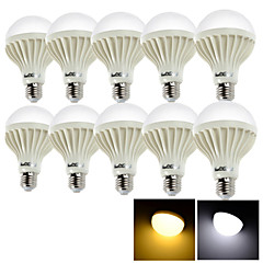 preiswerte LED-Birnen-YouOKLight 10 Stück 12 W 1050 lm E26 / E27 LED Kugelbirnen 24 LED-Perlen SMD 5630 Dekorativ Warmes Weiß / Kühles Weiß 220-240 V / RoHs