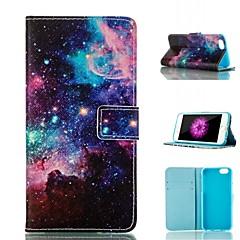 Для Кейс для iPhone 6 / Кейс для iPhone 6 Plus Кошелек / Бумажник для карт / со стендом / Флип / С узором Кейс для Чехол Кейс для Пейзаж