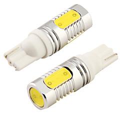 Недорогие Освещение салона авто-SO.K T10 Автомобиль Лампы COB 8000lm Внутреннее освещение For Универсальный