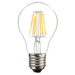 preiswerte LED-Birnen-1pc 6W 560lm E26 / E27 LED Glühlampen A60(A19) 6 LED-Perlen COB Dekorativ Warmes Weiß Kühles Weiß 220-240V