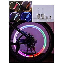 cheap -Bike Lights LED - Cycling Color-Changing AG10 90 Lumens Battery Cycling/Bike Driving Motocycle