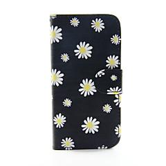 Недорогие Кейсы для iPhone 6 Plus-Кейс для Назначение Apple iPhone 8 iPhone 8 Plus iPhone 6 iPhone 6 Plus Бумажник для карт Кошелек со стендом Флип С узором Чехол Цветы
