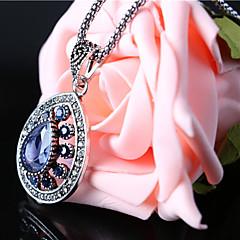 preiswerte Halsketten-Damen Vintage Halskette - Modisch Rot, Grün, Blau Modische Halsketten Für Party, Normal