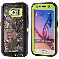 tanie Galaxy S3 Etui / Pokrowce-PC + TPU wodoodporne torebki gałęzi kamuflaż wstrząsoodporny przypadku kompilacji w folia na wyświetlacz do Samsung Galaxy S6 / S5 / S4 /