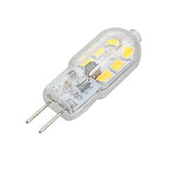 tanie Żarówki LED-2W 100-200 lm G4 Żarówki LED bi-pin Do zabudowy 12 Diody lED SMD 2835 Dekoracyjna Ciepła biel Zimna biel AC 12V DC 12V
