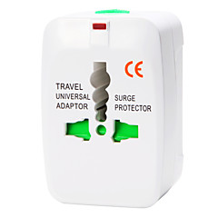 olcso Tápegységek & tápkábelek-whirldy minden egy nemzetközi adapter univerzális világszerte úti töltő csatlakozót, fehér