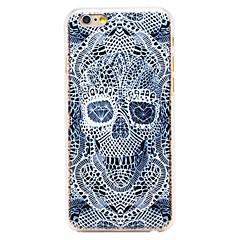 алмаз скелет картины прозрачный шт задняя крышка для iphone 6 плюс