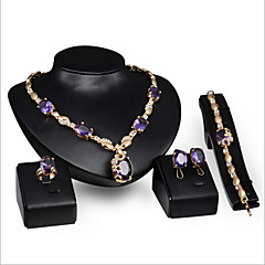 abordables Bijoux pour Femme-Femme Améthyste synthétique Ensemble de bijoux - Comprendre Violet Pour Mariage Soirée Occasion spéciale