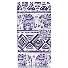 billige Etuier til Sony-For Sony etui / Xperia Z3 Pung / Kortholder / Med stativ / Flip Etui Heldækkende Etui Elefant Hårdt Kunstlæder for SonySony Xperia Z5
