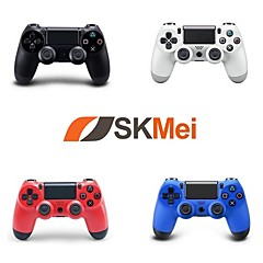 abordables Cables y Adaptadores para PS4-controlador inalámbrico de juegos bluetooth para sony ps4, controlador de juegos / juego recargable abs 1 unidad de PC
