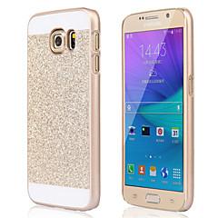 お買い得  Galaxy S6 Edge ケース / カバー-ケース 用途 Samsung Galaxy Samsung Galaxy ケース 耐衝撃 バックカバー キラキラ仕上げ PC のために S6 edge plus S6 edge S6 S5 S4 S3