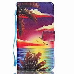 Για Samsung Galaxy Note Πορτοφόλι / Θήκη καρτών / με βάση στήριξης / Ανοιγόμενη tok Πλήρης κάλυψη tok Τοπίο Συνθετικό δέρμα SamsungNote 5