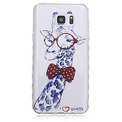 Для Samsung Galaxy Note С узором Кейс для Задняя крышка Кейс для Животный принт TPU для Samsung Note 5 Note 4 Note 3