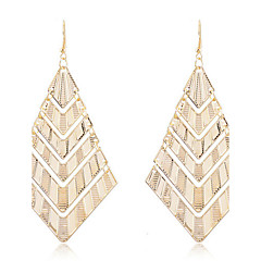 preiswerte Ohrringe-Damen Kristall Mehrschichtig Tropfen-Ohrringe - Krystall Europäisch, Modisch, Mehrlagig Silber / Golden Für Party / Alltag / Normal