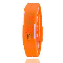 preiswerte Tolle Angebote auf Uhren-Damen Modeuhr / Digitaluhr Silikon Band Schwarz / Weiß / Blau / Ein Jahr / SSUO LR626
