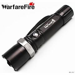 3 LED-Zaklampen Handzaklampen LED 240 Lumens 1 Modus Cree XR-E Q5 Batterijen niet inbegrepen Verstelbare focus Schokbestendig
