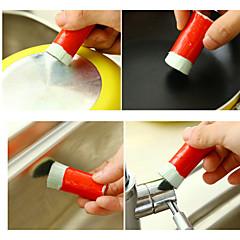 abordables Limpieza para la Cocina-2pcs acero la magia de descontaminación de acero varitas varillas de descontaminación de metal de uso doméstico de limpieza color al azar