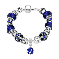 cheap Bracelets-Women's Charm Bracelet Vintage Bracelet Silver Plated Alloy Jewelry Christmas Gifts Party Daily Casual