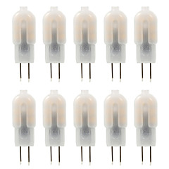 cheap LED Bulbs-YWXLIGHT® 10pcs 4W 300-360 lm G4 LED Bi-pin Lights T 14 leds SMD 2835 Decorative Warm White Cold White Natural White DC 12V AC 220-240V