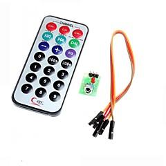 hx1838 infrarød fjernbetjening modul kode infrarød fjernbetjening til Arduino