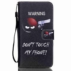 Na Samsung Galaxy Etui Portfel / Etui na karty / Z podpórką / Flip Kılıf Futerał Kılıf Napis Skóra PU SamsungS6 edge plus / S6 edge / S6