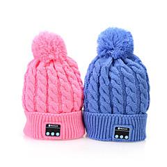 bluetooth 4.1 mössa hatt musik mössa smarta mössa trådlösa hörlurar headset med mikrofon för iphone SUMSUNG mobiltelefon