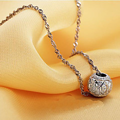Jewelry Pendant Necklaces / Chain Necklaces Wedding / Party / Daily / Casual Silver Plated 1pc Women Wedding Gifts