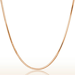 Women's Chain Necklaces Gold Costume Jewelry Jewelry For Wedding Party Daily Casual