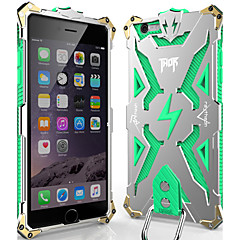 abordables Fundas para iPhone 6s Plus-Funda Para Apple iPhone 6 Plus / iPhone 6 Antigolpes / Antipolvo Funda Trasera Armadura Dura Metal para iPhone 6s Plus / iPhone 6s / iPhone 6 Plus