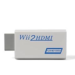 お買い得  ケーブル、アダプター-wiiの2hdmiのconvereter