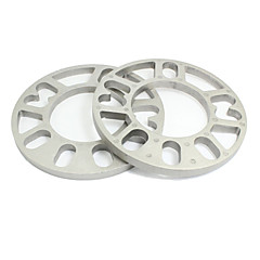 Недорогие Ремонтные инструменты-Автомобиль 15см диам 10мм толщина колесные диски распорных серебряный тон