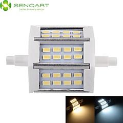 5W R7S LED-projektører Nedfaldende retropasform 24 leds SMD 5730 Dæmpbar Varm hvid Kold hvid 450-500lm 3000-3500  6000-6500K Vekselstrøm