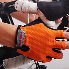 Nuckily Sports Gloves Bike Gloves / Cycling Gloves Moisture Permeability Wearable Breathable Wearproof Shockproof Wicking Fingerless