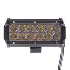 """abordables Iluminación para Vehículos Industriales-1pc 7 """"epistar 36w llevó el trabajo ligero barra de la lámpara del barco del tractor todoterreno 4wd 4x4 24v 12v camioneta suv"""